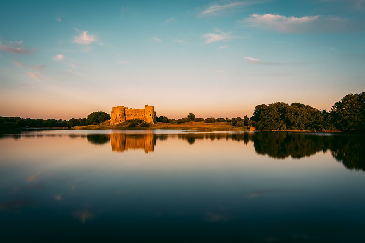 Carew Castle in Pembrokeshire, Wales