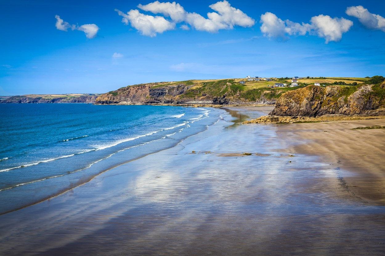 Broad Haven and Little Haven Beach, Pembrokeshire