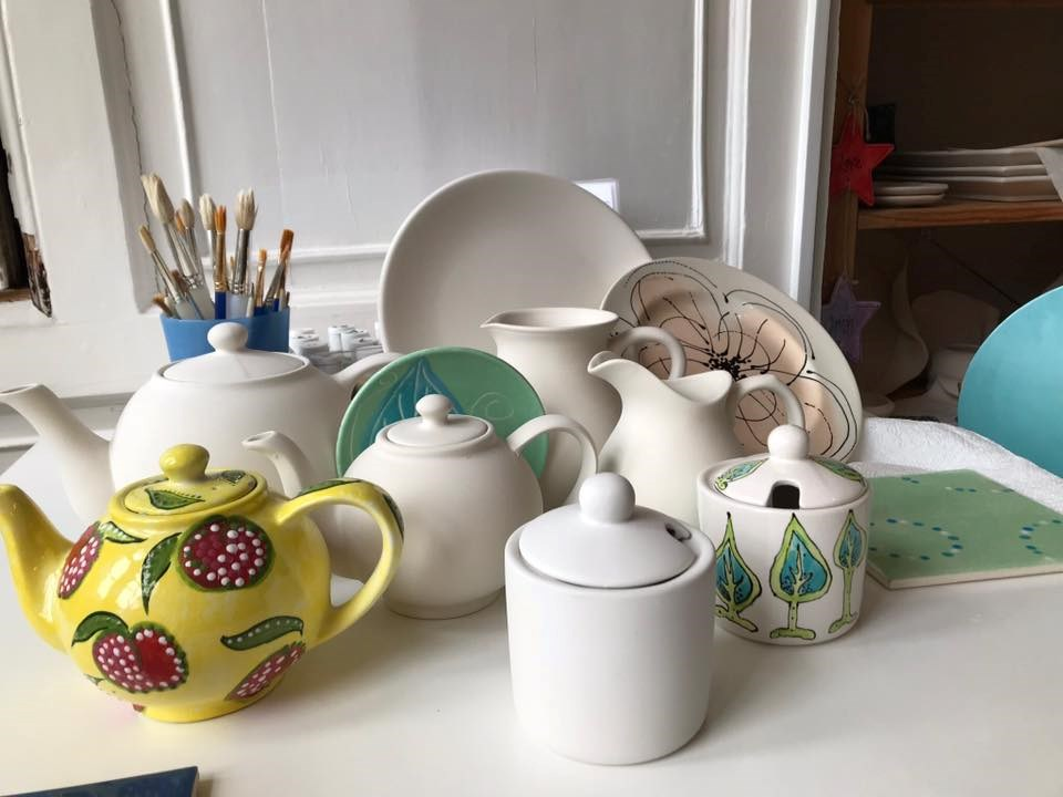 Creative Cafe Pottery, Haverfordwest