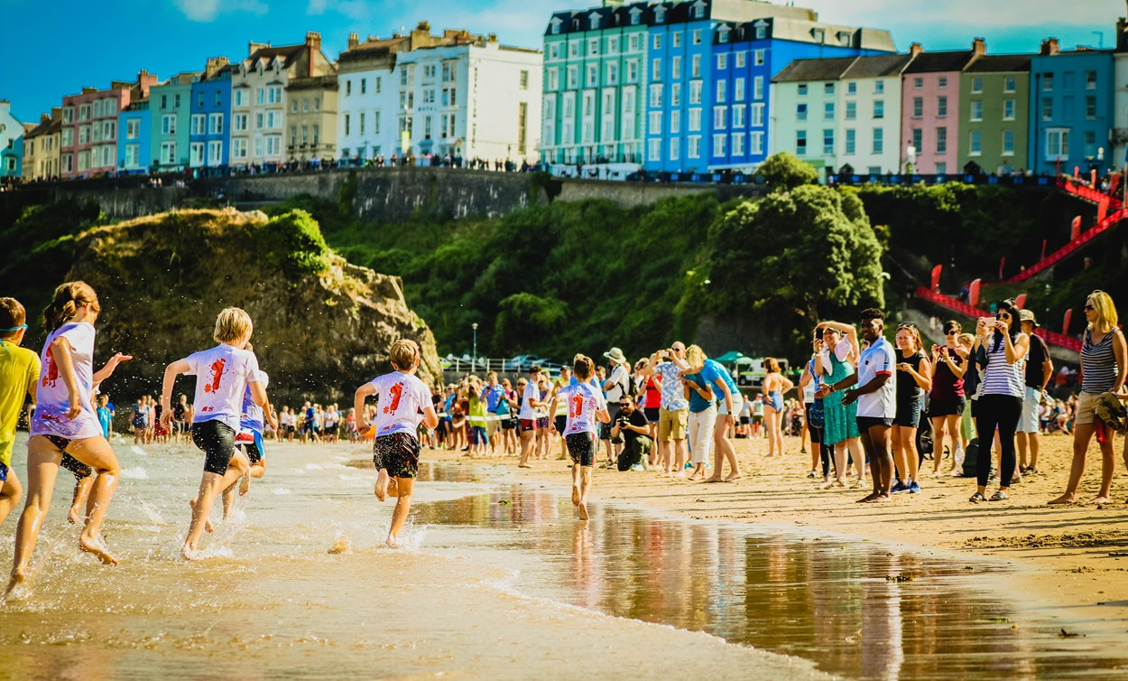 Child-friendly events in Tenby, Pembrokeshire