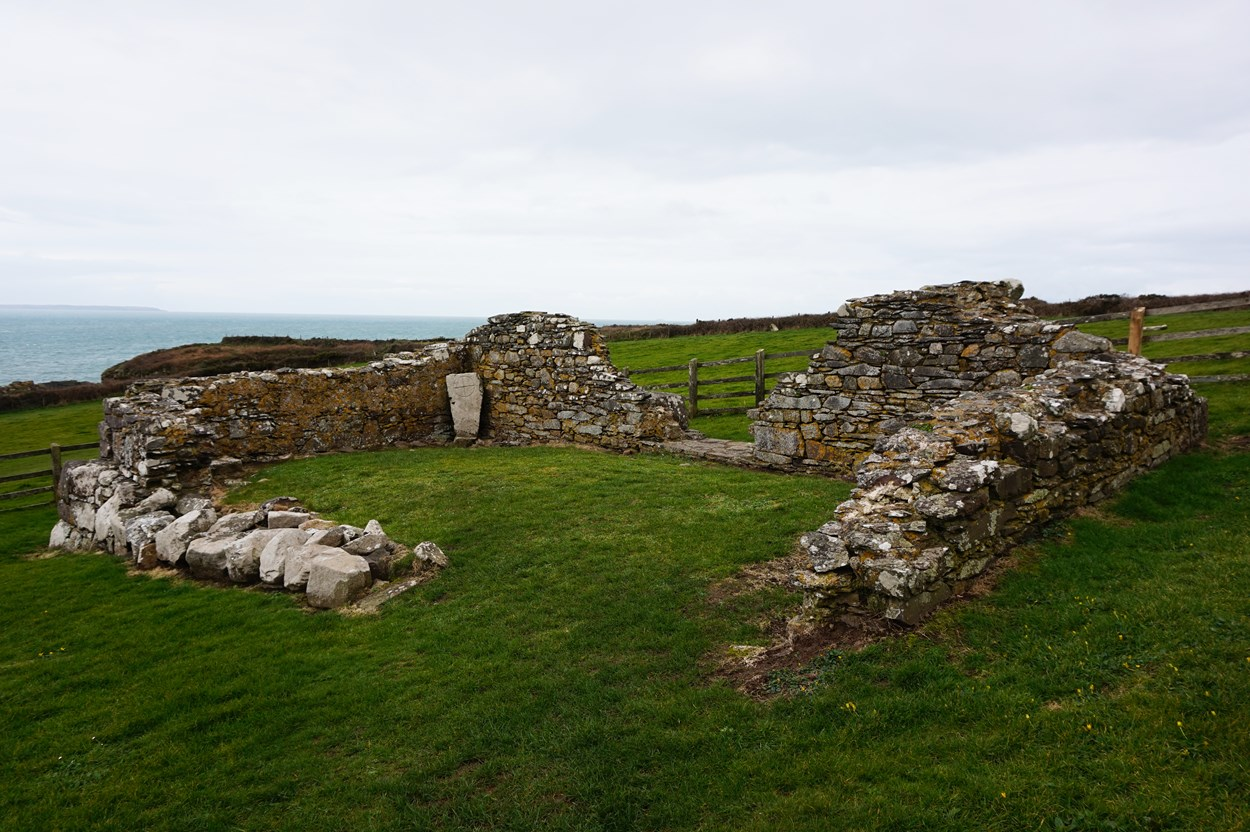 Chapel Ruins at St Nons