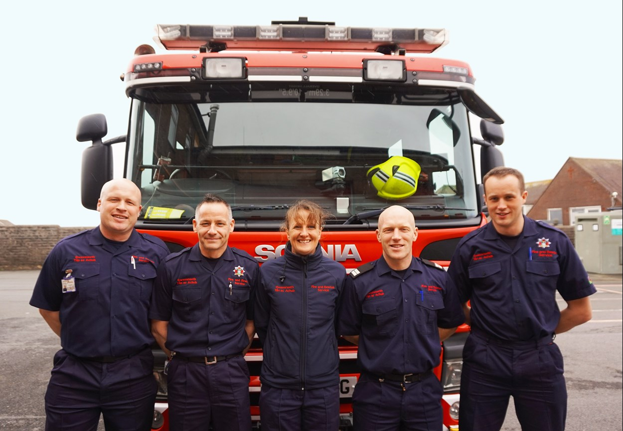 Pembrokeshire Fire Station Team